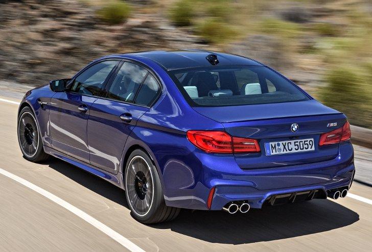 BMW M5 F90 - фото 4