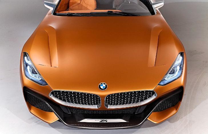 Передняя часть BMW Z4 G29 Prototyp