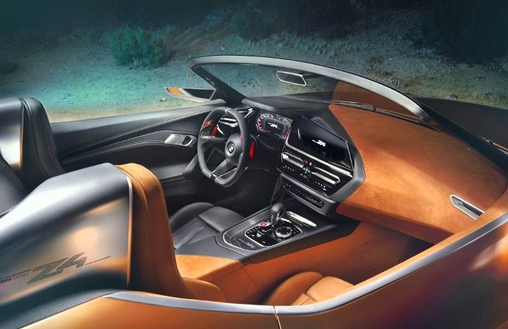 BMW Z4 G29 - интерьер