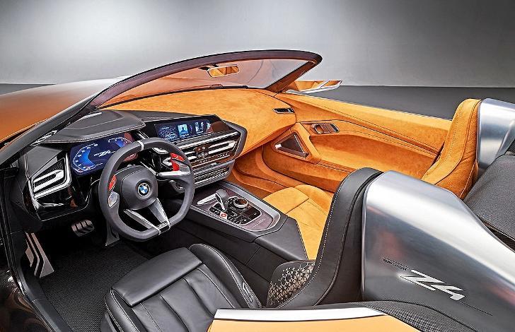BMW Z4 G29 - салон