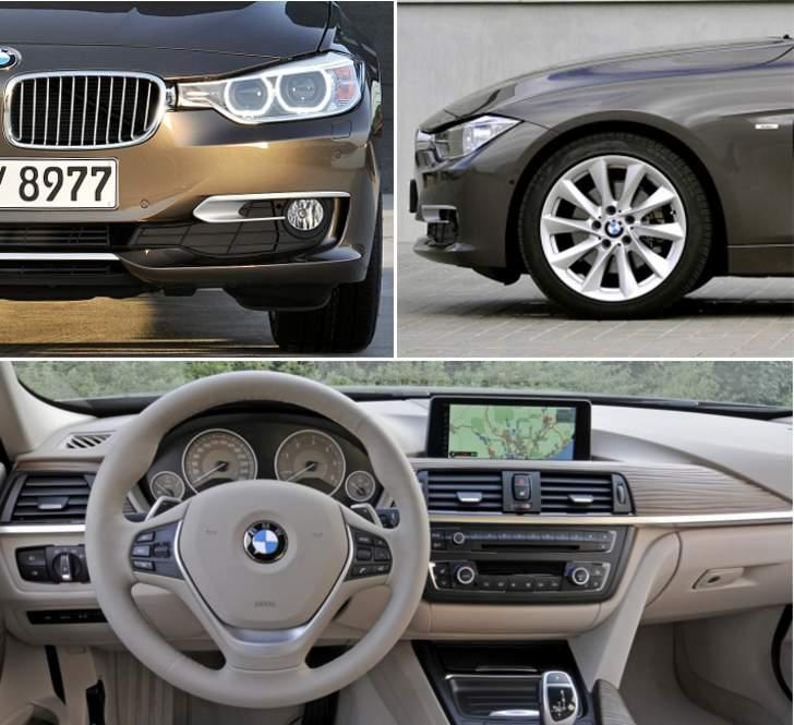BMW F30 Sedan Modern Line - overview