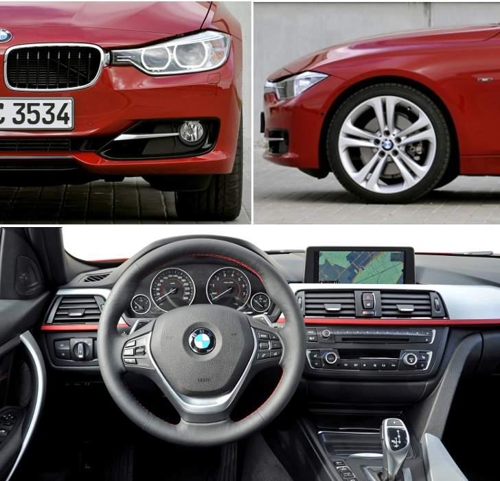 BMW F30 Sedan Sport Line - overview