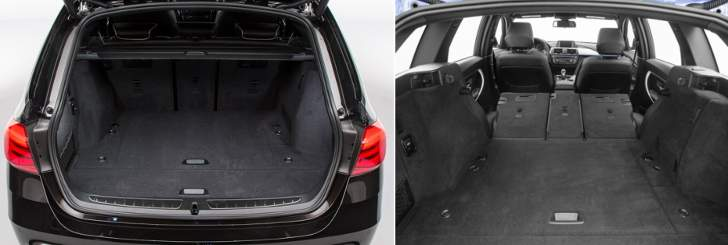 Trunk BMW F31 Touring and the full amount