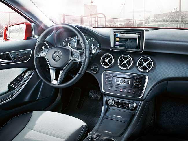 Салон Mercedes-Benz А-класс W176