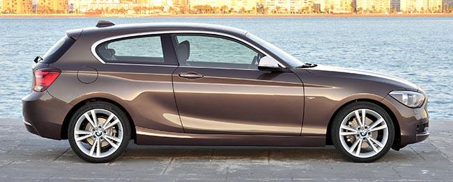 BMW F21 вторая генерация компактных хэтчбеков 1 серии