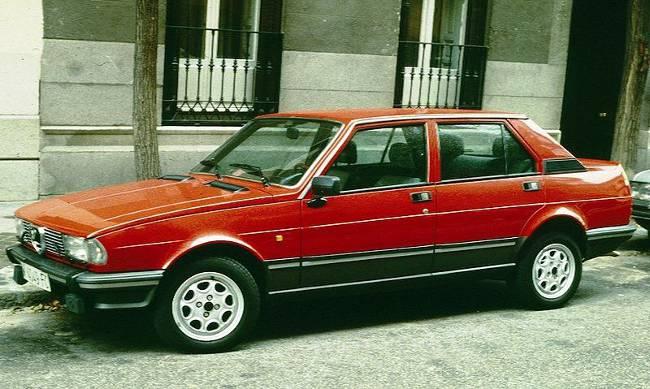 Alfa Romeo Giulietta 1984 года выпуска