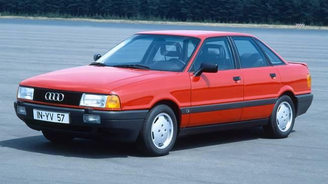 Audi 80 1990 года выпуска