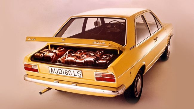Audi 80 LS 1973 года выпуска
