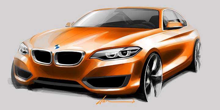 BMW 2 серии купе - F22