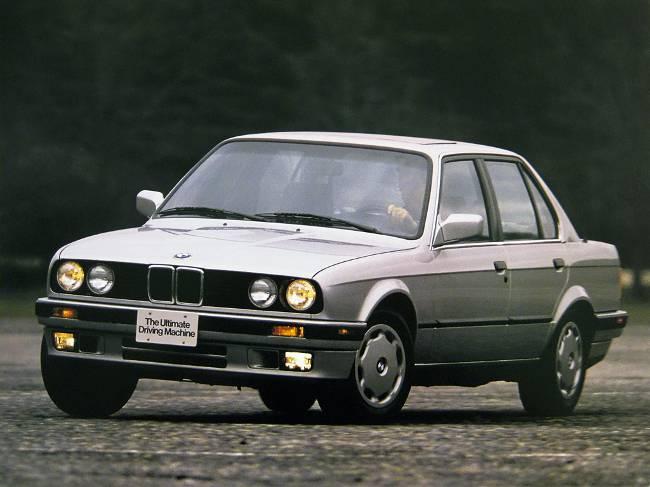 BMW 3 Series E30 - вторая генерация 3 серии