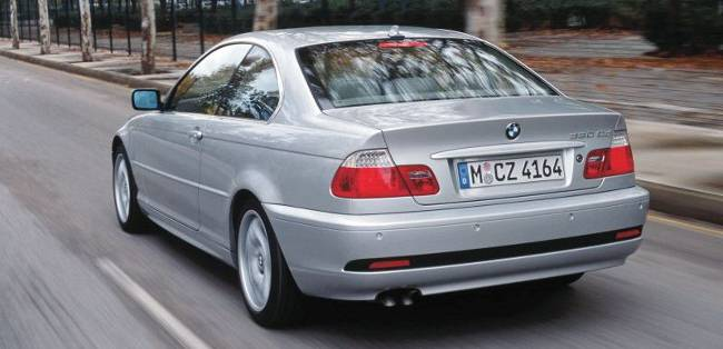 BMW 3 Series E46 330Cd Coupe