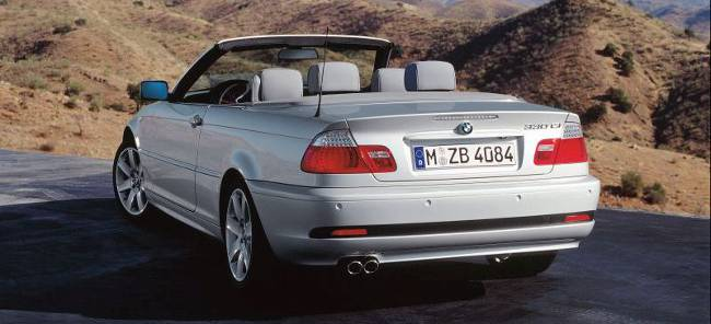 BMW 3 Series E46 330Ci Cabrio