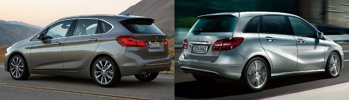 BMW Active Tourer F45 vs Mercedes Benz B-Class