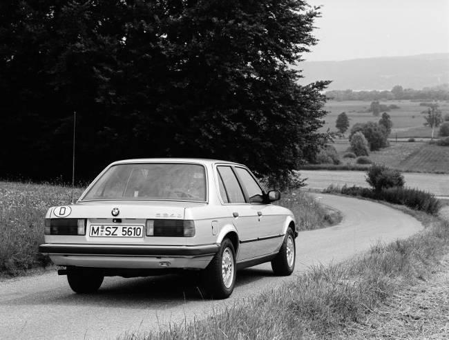 BMW E30 3 Series - 324d Sedan