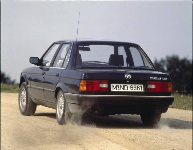 BMW E30 3 Series - 324td 1987 года