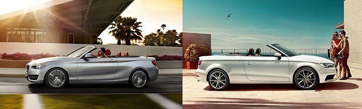 BMW F23 vs Audi A3 Cabrio