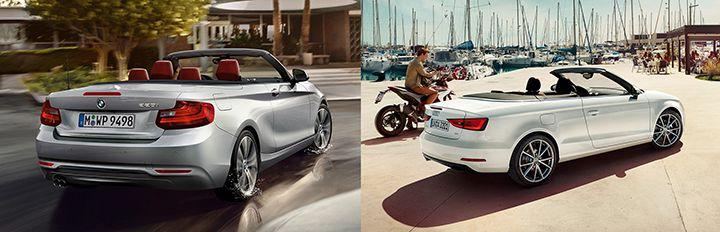 BMW F23 vs Audi A3