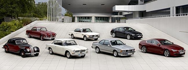 Все купе BMW с которых началась история 6 серии