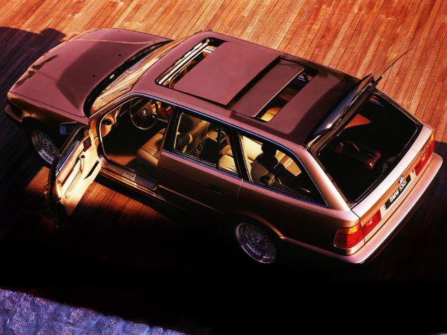 Роскошный универсал 5 серии в кузове Е34