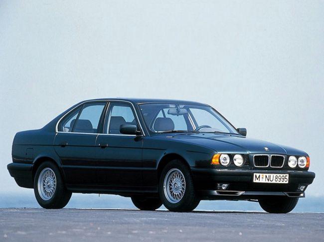 BMW в кузове Е34 - классика 5 серии