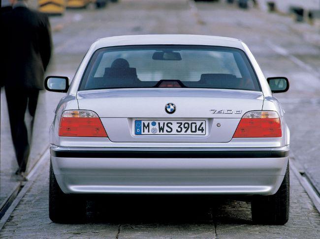 BMW E38 после рестайлинга