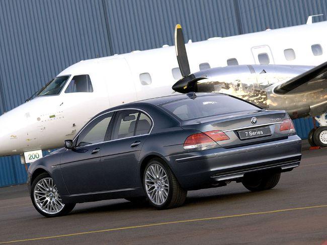 BMW E65 - после рестайлинга