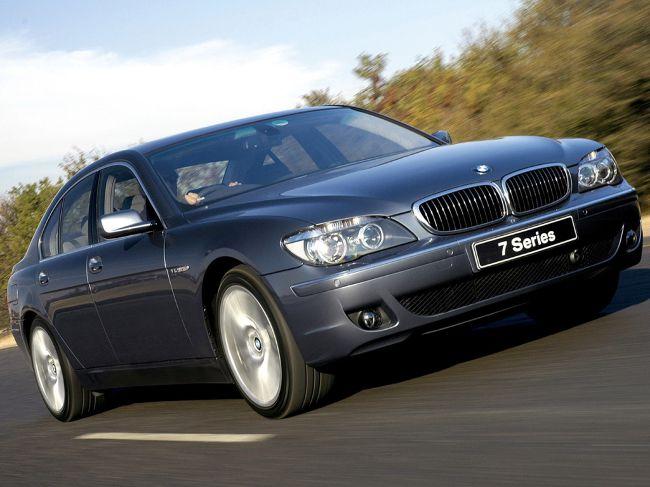 BMW E65 LCI - после обновления