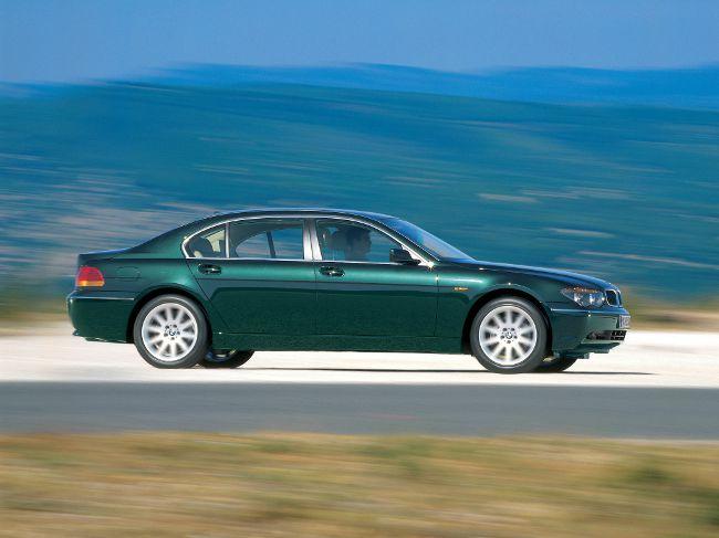 BMW E66 - седан 7 серии с удлиненной колесной базой