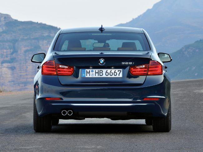 BMW F30 Sedan с пакетом Luxury Line
