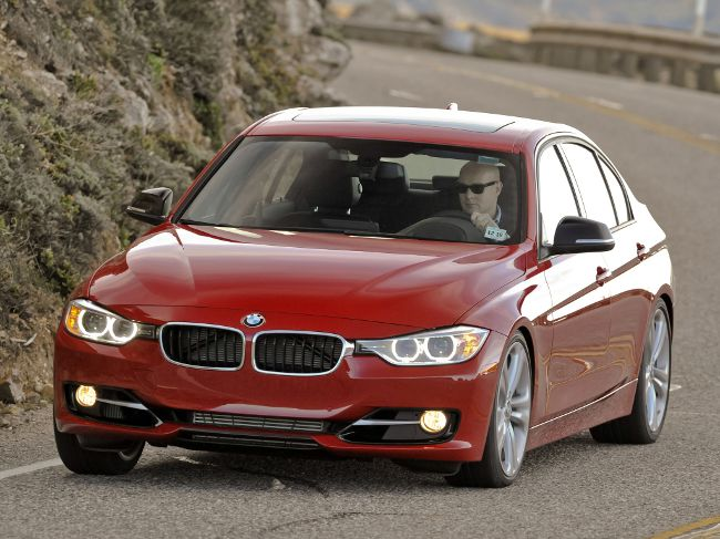 BMW F30 Sedan с пакетом Sport Line
