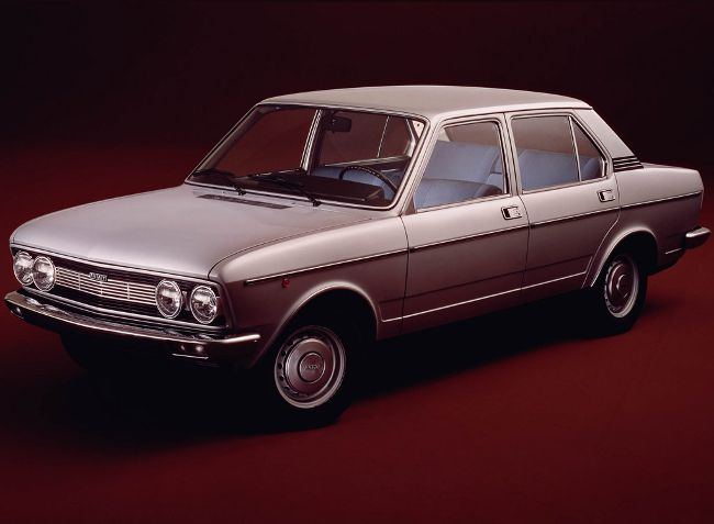 Fiat 132 GLS - вид спереди