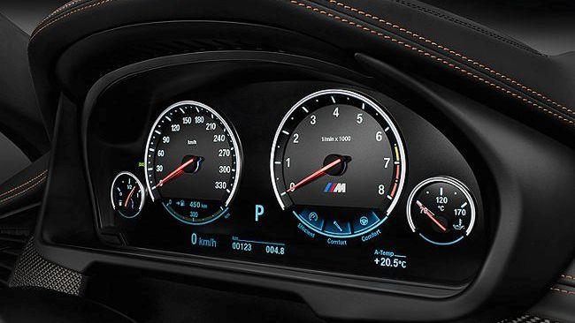 Панель приборов BMW X5 M F85