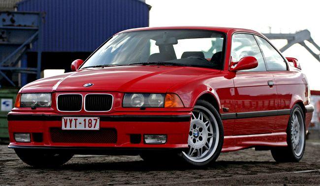 Популярное купе BMW M3 E36