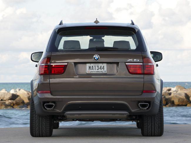 Рестайлинговая модель BMW X5 E70