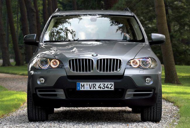 Второе поколение BMW X5 в кузове E70