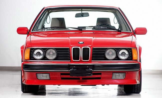 1-й BMW M6 в кузове E24