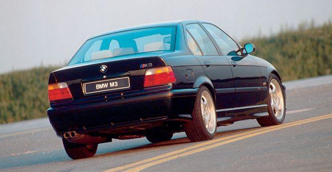 BMW M3 E36 Sedan в кузове седан