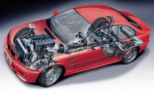 BMW M3 E46 - в разрезе