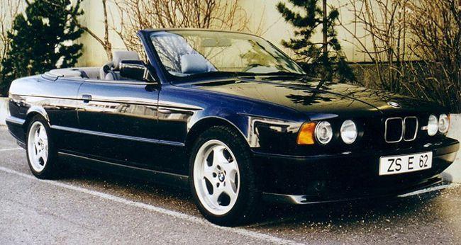 BMW M5 E35 - кабриолет не был запущен в производство