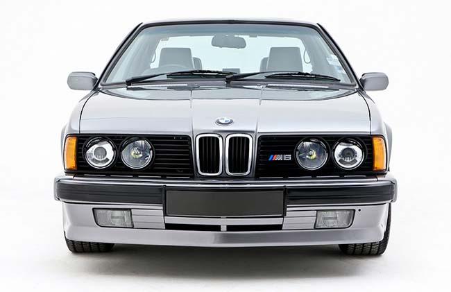 BMW M635CSi E24 - доступный только для Европейского рынка