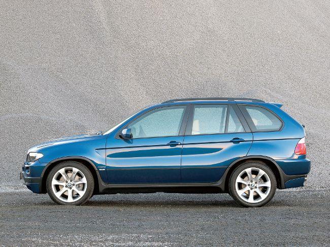 BMW X5 E53 lci - в обновленным кузовом