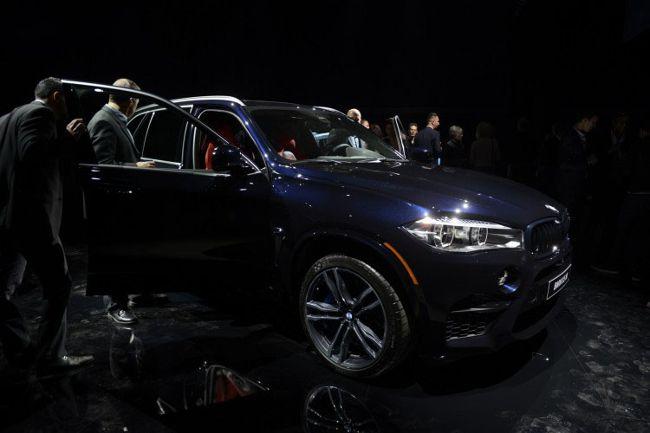 BMW X5M F85 - на презентации в Голливуде
