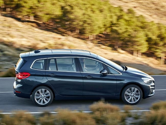 BMW Gran Tourer F46 2 Series с пакетом Luxury Line