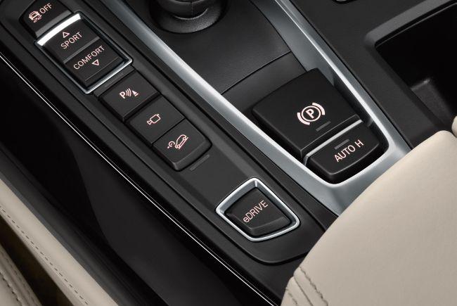 Кнопка eDrive в X5 F15