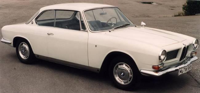 BMW 3200 CS - последняя послевоенная версия V8