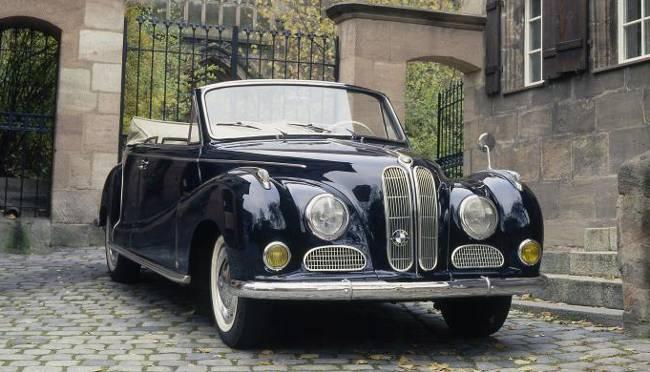 BMW 502 в кузове кабриолет