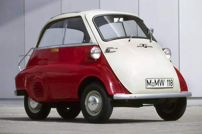 BMW Isetta - легенда 50-х годов