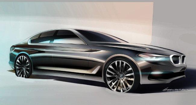 BMW-G30-5-Series-2017-рисунок
