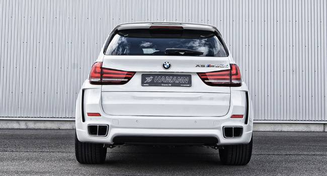 BMW M50d F15 HAMANN - DS White