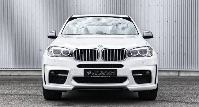 BMW X5 M50d F15 HAMANN - DS White